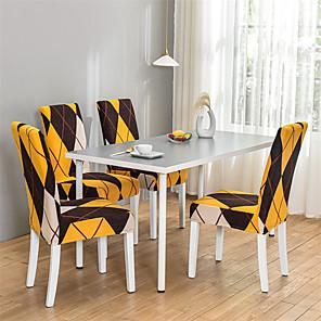저렴한 -북유럽 간단한 스타일 가정용 탄성 cne 조각 의자 세트 통합 식탁 의자 세트 사계절