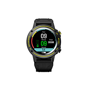 tanie -OD1 Inteligentny zegarek Bluetooth Czasomierze Stoper Krokomierz Wodoodporny Ekran dotykowy Pulsometry IP68 48mm etui na zegarek na Android iOS / Pomiar ciśnienia krwi / Sport / Spalonych kalorii