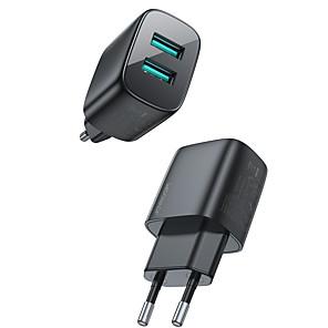 abordables -Joyroom 12 W Puissance de sortie USB Chargeur USB Chargeur de téléphone Chargeur de portable Pour iPad Mobile