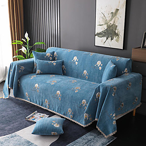 זול -כיסוי ספה שמיכת ספה שמיכה מגבת ספה כיסוי ספה / כיסוי ספה חיננית קטנה אבק חסון החלקה מגן ספה / מתאים לספה כרית 1-4 וספה בצורת l
