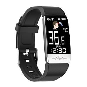 tanie -T1S Inteligentny zegarek Bluetooth Czasomierze Stoper Krokomierz Wodoodporny Ekran dotykowy Pulsometry IP 67 42mm etui na zegarek na Android iOS / Pomiar ciśnienia krwi / Sport / Długi czas czuwania