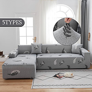 levne -elastický potah na pohovku do obývacího pokoje protiskluzový protiskluzový potah na rozkládací pohovku rohový potah na křeslo ve tvaru l (1ks zdarma zaslat polštář)