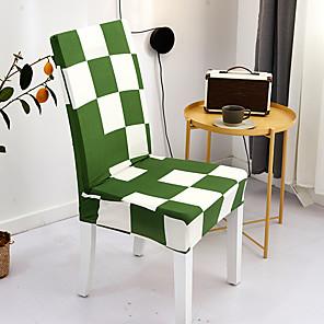 voordelige -Stoelhoes Multi Kleur / Geometrisch / Klassiek Garengeverfd Polyester Hoezen