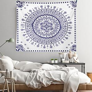 voordelige -mandala bohemian wandtapijten art decor deken gordijn opknoping thuis slaapkamer woonkamer decoratie boho hippie