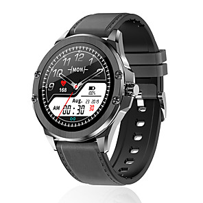 halpa -S11 Älykello Bluetooth Ajastin Sekunttikello Askelmittari Vedenkestävä Kosketusnäyttö Sykemittari IP 67 43 mm: n kellokotelo varten Android iOS / Verenpaineen mittaus / Urheilu / Pitkä valmiustila