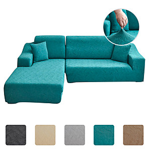 זול -הגעה חדשה צבע טהור ספה מוצקה כיסוי ספה כיסוי ספה דמשק אקארד בחינם מקרה כיסוי ספה גבוהה למתוח ריהוט לכורסה בסלון לילדים חיות מחמד
