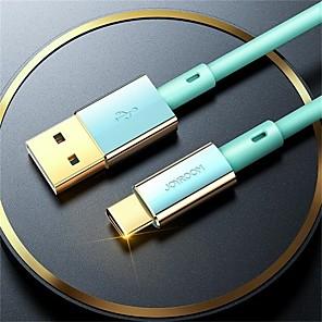 abordables -Joyroom USB C Câble Haut débit Charge Rapide 3 A 1.2m (4ft) Silicone TPE Pour Samsung Xiaomi Huawei Accessoire de Téléphone