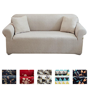 cheap -Dustproof All-powerful Slipcovers Stretch Sofa Cover Super Soft Fabric Couch Cover With One Free Boster Case(Chair/Love Seat/3 Seats/4 Seats)