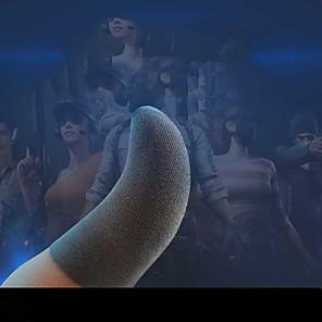 abordables -catres antisudor comer pollo catres para dedos rey de la gloria juegos móviles paz élite guantes de pantalla táctil para jugar juegos antisudor