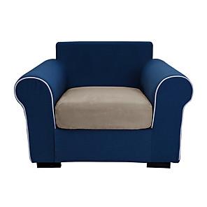 voordelige -stretch sofa kussenhoes effen kleur bank kussen vervanging omkeerbare kussen hoezen sofa in huis woonkamer