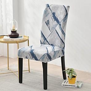 levne -Potah na židli Vícebarevný / Geometrický / Klasický Barvená příze Polyester potahy