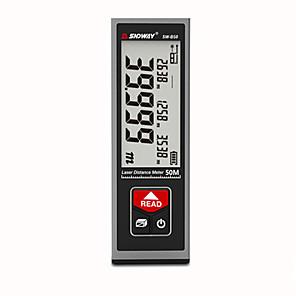 저렴한 -sndway laser distance meter 충전식 디지털 거리 측정기 trena lazer laser 테이프 측정 룰렛 50m