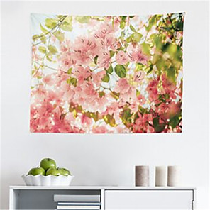 저렴한 -꽃 벽 태피스트리 아트 장식 담요 커튼 교수형 홈 침실 거실 장식