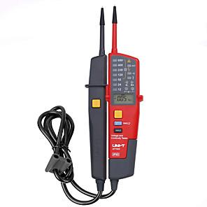 저렴한 -uni-t ut18c ac 전압 연속성 테스터 위상 회전 led 자동 범위 rcd 테스트 극성 감지 방수 전기 펜