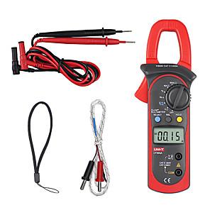 저렴한 -저항, 커패시턴스, 주파수 및 온도 측정 기능이 있는 uni-t ut204a dc/ac 전압 전류 디지털 클램프 미터