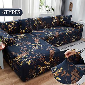 levne -roztažitelný potah na pohovku slipcover elastické křeslo s rozkládacím gaučem loveseat 4 nebo 3 sedadlo ve tvaru l měkké odolné omyvatelné