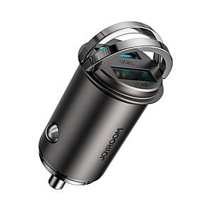 abordables -Joyroom 45 W Puissance de sortie Autre Chargeur pour auto Sorties Multiples QC 3.0 RoHs CE FCC Pour Universel