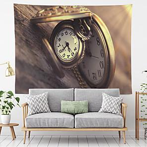 voordelige -vintage wandtapijten art decor deken gordijn opknoping thuis slaapkamer woonkamer decoratie polyester