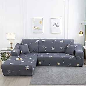 cheap -Sofa Cover Classic Printed Polyester Slipcovers