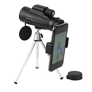 رخيصةأون -10 X 42 mm أحادي محول الهاتف الذكي العدسات دقة عالية محمول مقاومة للاهتراء زلة المضادة 305/1000 m تغطية متعددة BAK4 التخييم والتنزه غير رسمي الأداء