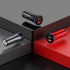 abordables -Joyroom 30 W Puissance de sortie Autre Chargeur pour auto Lampe LED Sorties Multiples QC 3.0 Pour Universel