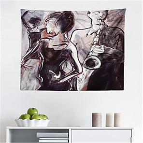 저렴한 -빈티지 벽 태피스트리 아트 장식 담요 커튼 교수형 홈 침실 거실 장식 폴리에스터