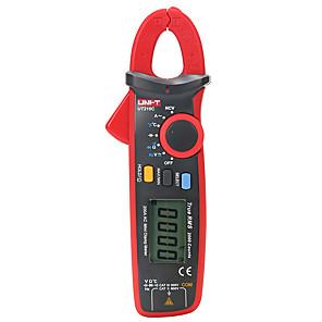 저렴한 -uni-t ut210c true rms 미니 클램프 미터, 자동 범위 디지털 멀티미터, ac 전류 ac/dc 전압 옴 커패시턴스 온도 테스터