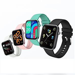 tanie -COLMI P15 Inteligentny zegarek Bluetooth Rejestrator snu Pulsometry Ciśnienie krwi Wodoodporny Sport Powiadamianie o wiadomości IP 67 Etui na zegarek 38mm na Android iOS Mężczyźni Kobiety