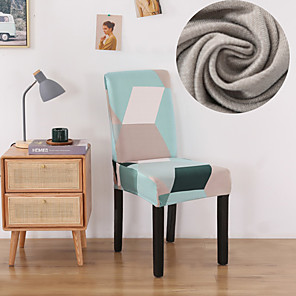 levne -Geometrický tisk 1ks Potah na židli pro jídelnu Mandala Potisk na židle Potah na vysokou záda pro obývací pokoj Párty Svatební vánoční dekorace