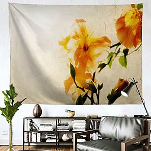 זול -שטיח קיר בסגנון סיני אמנות תפאורה שמיכת וילון תלוי חדר שינה ביתי סלון קישוט פוליאסטר