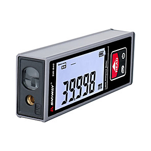 저렴한 -sndway laser distance meter 충전식 디지털 거리 측정기 trena lazer laser 테이프 측정 룰렛 60m