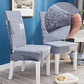 저렴한 -엘크 숲 1pcs 의자 커버 식당 만다라 인쇄 의자 커버 거실 파티 웨딩 크리스마스 장식 하이 백