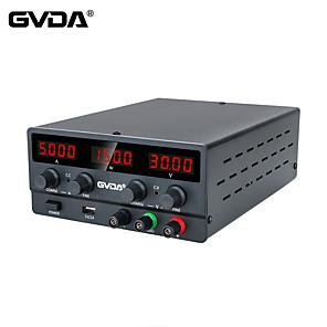 저렴한 -gvda usb dc regulated lab 전원 공급 장치 조절 가능 30v 10a 전압 조정기 60v 5a 안정기 스위치 벤치 전원