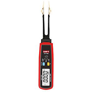 abordables -Testeur uni-t ut116c smd 36v tension continue mesure de la batterie pince rotative led diode multimètre résistance condensateur testeur