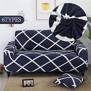 preiswerte -Stretch-Sofabezug Schonbezug elastischer Schnittsofa Sessel Loveseat 4- oder 3-Sitzer L-Form weich strapazierfähig waschbar