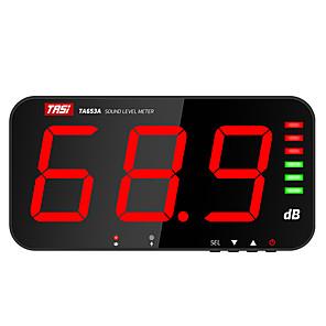 economico -tasi ta653a misuratore di livello sonoro digitale display a grande schermo misuratore di rumore db da appendere a parete tipo allarme ospedale ristorante bar scuola