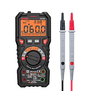 voordelige -gvda digitale multimeter ture rms auto range 6000 counts multimetro 1000v 10a ac dc ohm hz ncv live voltage temperatuur meter