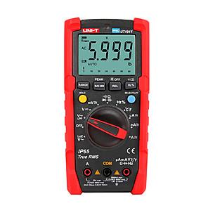 voordelige -uni-t tester digitale multimeter profesional ut191t ut191e true rms auto range dmm 20a ampèremeter 600v count 6000 dc ac condensator