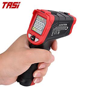 저렴한 -tasi ta601a/b/c 디지털 적외선 온도계 레이저 포지셔닝 온도 측정기 va 컬러 lcd 라이트 알람 비접촉 termometro