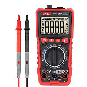 저렴한 -tasi ta801a/b/c/d digital multimeter mini smart ture rms ac dc ncv auto range digital multimeters tester ohm hz voltage meter