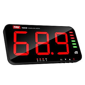 economico -tasi ta653b misuratore di livello sonoro digitale display a grande schermo misuratore di rumore db misuratore a parete tipo di trasmissione dati usb misuratore audio