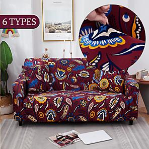 ราคาถูก -ยืดหยุ่นโซฟา slipcovers โมเดิร์นโซฟาสำหรับห้องนั่งเล่นโซฟาปกส่วนมุม l-shape เก้าอี้ protector ที่นอน 1/2/3/4 ที่นั่ง (1 ชิ้นฟรีส่งปลอกหมอน)