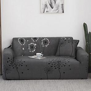 preiswerte -Stretch-Sofabezug Schonbezüge Löwenzahnmuster Sessel Loveseat Ersatz Softmöbel Protector Fit für Sessel / Loveseat / Dreisitzer / Viersitzer / L-förmiges Sofa
