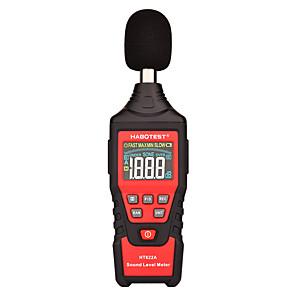 economico -habotest ht622 digital sound level noise meter logger 30130db digital db meter strumento di misura del rumore con ce
