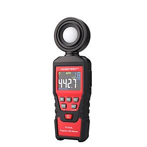 economico -habotest ht620l luxmetro misuratore di luce digitale luxmetro fotometro radiometro uv lcd luxmetro palmare illuminometro fotometro