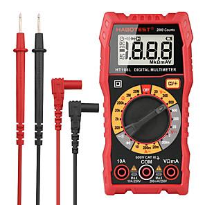 저렴한 -multimtre ht108 디지털 멀티미터 esr meter ac dc 전압 전류 ohm 자동차 전기 도구 dmm 2000 counts