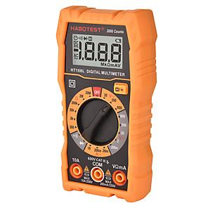お買い得  -ht108lマルチメーターデジタルオーム電圧アンペア抵抗2000カウント600vacDC電圧メーターマルチメトロ