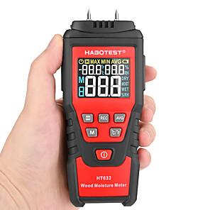olcso -habotest 0-99,9% digitális fa nedvességmérő fa nedvességmérő nedvességmérő fa nedves papír beton cement detektor tesztelő