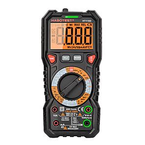 저렴한 -Habotest ht118d true rms 수동 범위 전문가용 6000 카운트 디지털 멀티메트로 옴 hz 커패시턴스 hz 전압계 멀티테스터
