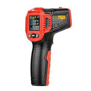 economico -habotest ht650c misuratore di umidità della temperatura igrometro termometro digitale termometro laser a infrarossi stazione meteorologica